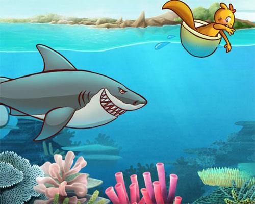 cerita anak terbaru judul tupai dan ikan gabus