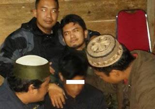 Pembunuh Mertua dan Anak Kabid Pengairan Dinas PU di Blangpidie akhrinya ditemukan polisi