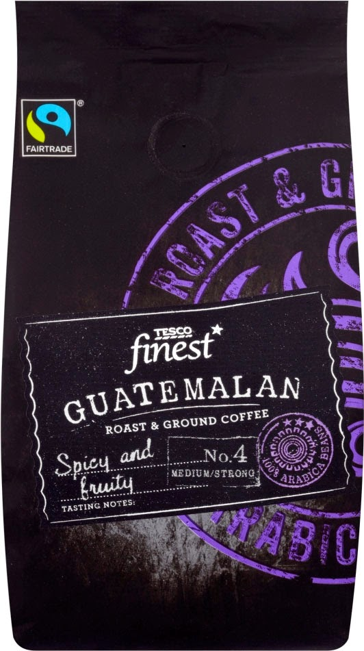 Smell The Tea And Coffee Tesco Finest Guatemalan Coffee