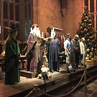 Harry Potter studio tour Leavesden Great Hall