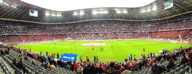 Die Allianz Arena Von Innen Lahnau Myheimat De, Allianz arena Innen neu, panoramabild Allianz arena Innen, Allianz arena innenraum