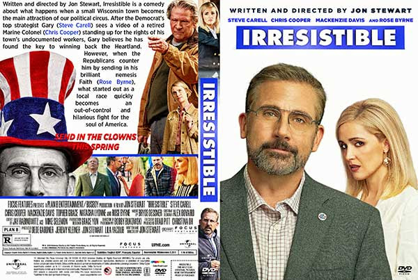 Irresistible (2020) DVD Cover