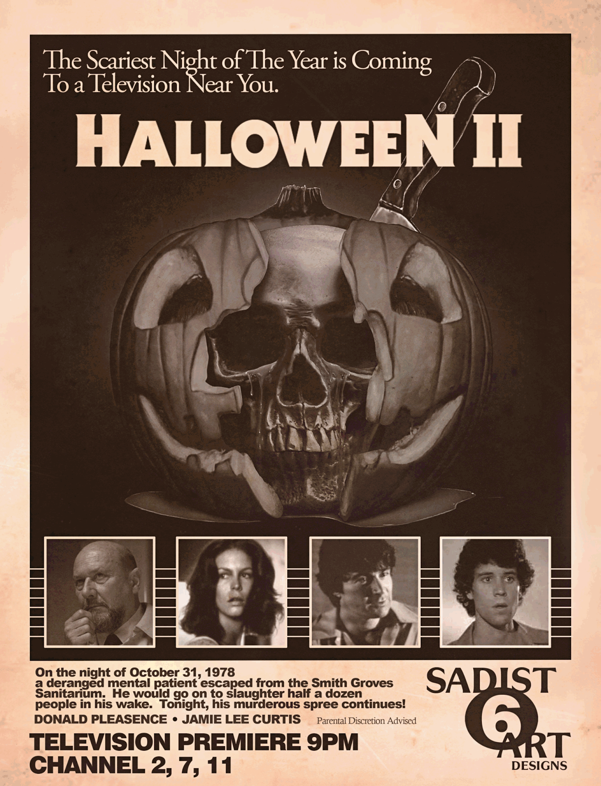 The Horrors of Halloween: HALLOWEEN HORROR Movie Newspaper ...