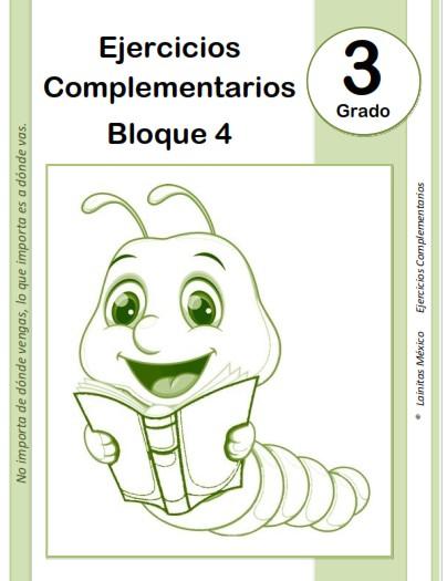 3er grado primaria - material educativo - bloque 4