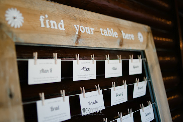Rustic Wedding Seating Chart Ideas: Just Bee Fashion: Please Find Your Seat