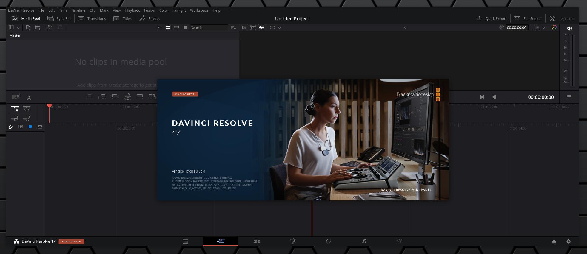 How To Install Davinci Resolve 16 2 Or 17 Beta In Ubuntu Linux Mint Or Debian Generate Deb Package Linux Uprising Blog