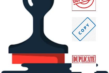 Jangan kuatir, konten duplikat bukan faktor negatif ranking halaman web!