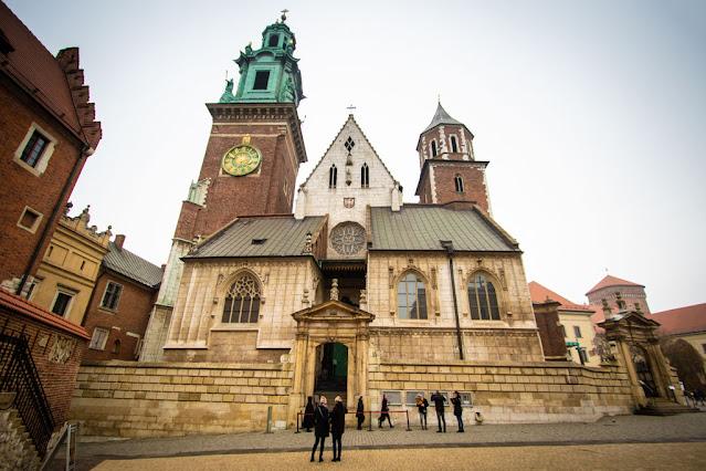 Cattedrale nel castello reale del Wawel-Cracovia