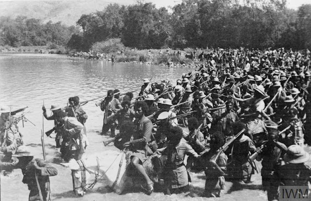 Abyssinia troops cross Omo River 23 May 1941 worldwartwo.filminspector.com
