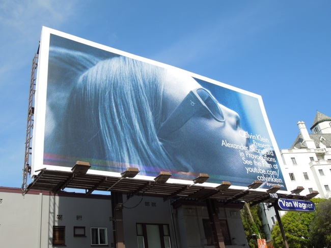 CK Eyewear Provocations billboard