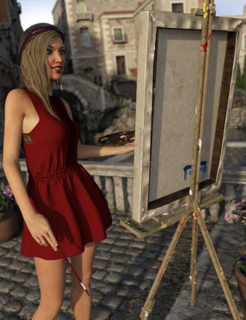 Street Artist for Genesis 3 Female