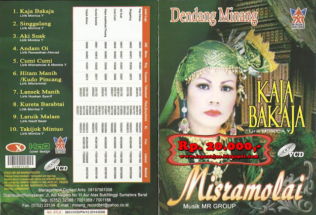 Misramolai - Kaja Bakaja (Album Dendang Minang)