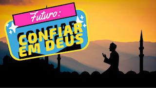 Confiar futuro a Deus - homem orando