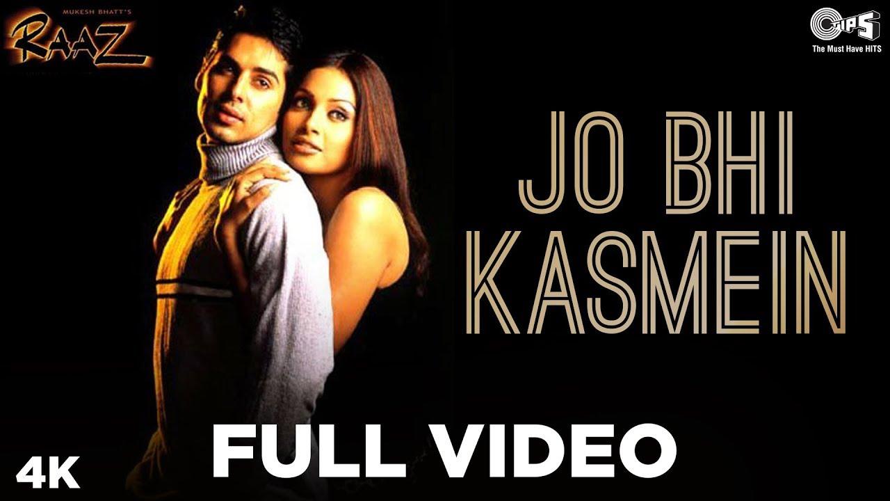Jo Bhi Kasmein Lyrics Raaz | Bipasha Basu X Dino Morea | Udit Narayan X Alka Yagnik