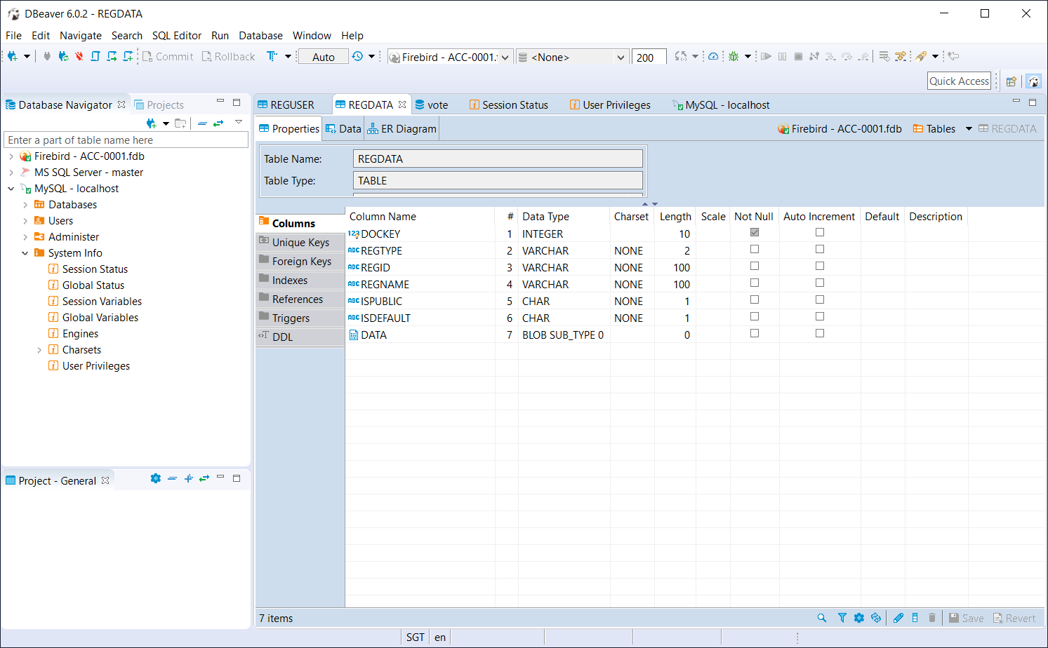 Free database clients able to access multiple DBMS - DBeaver CE