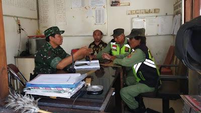 Serka Sugiyono Punya Cara Tersendiri Dalam Menjaga Keamanan Wilayahnya