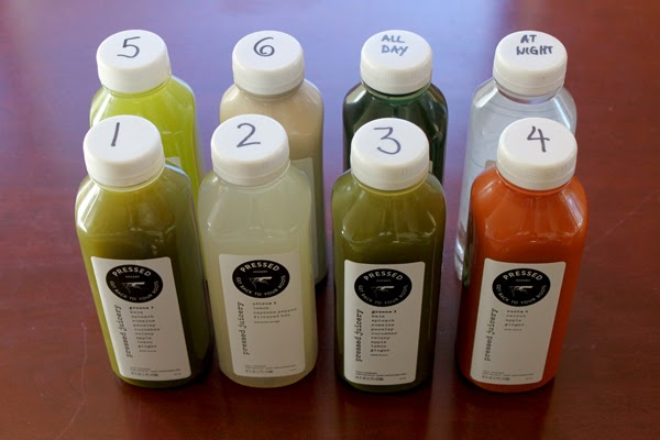 Pressed Juicery One-Day Cleanse (Cleanse 2)