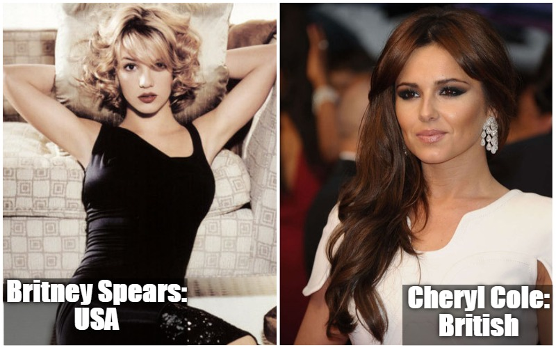 Britney Spears Vs Cheryl Cole