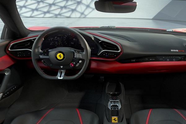 Interior Ferrari 296 GTB