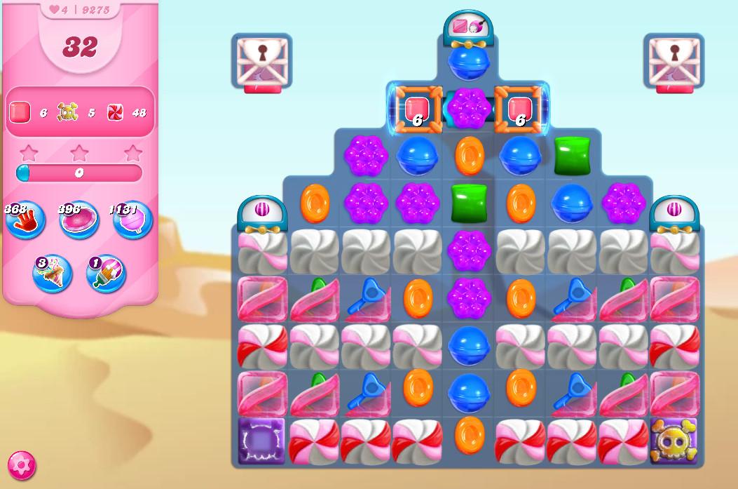 Candy Crush Saga level 9275