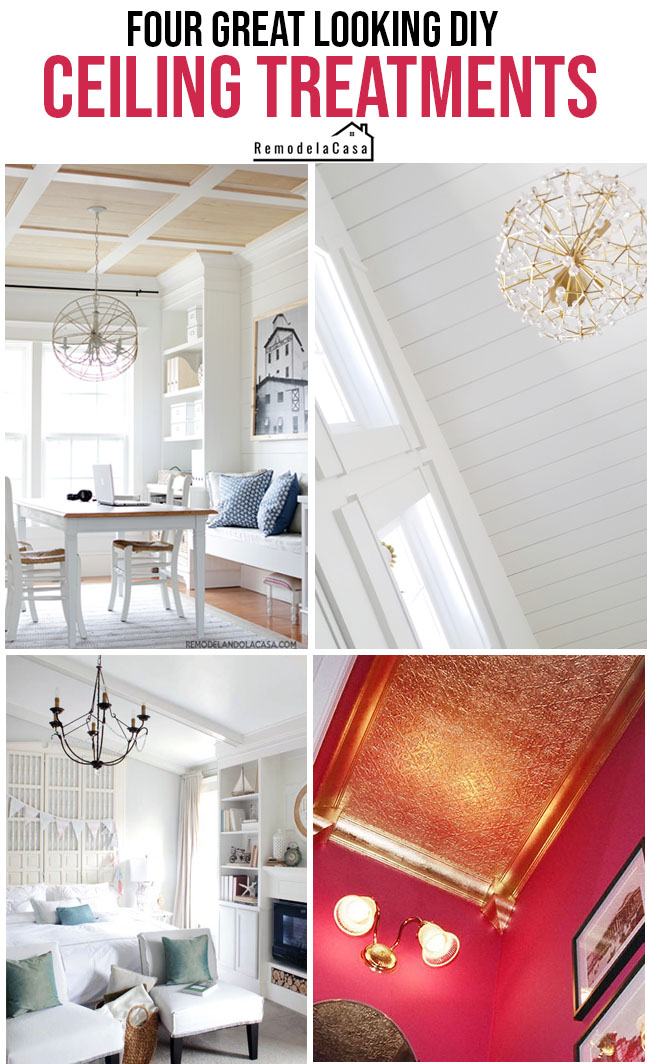 ceiling treatments that rock