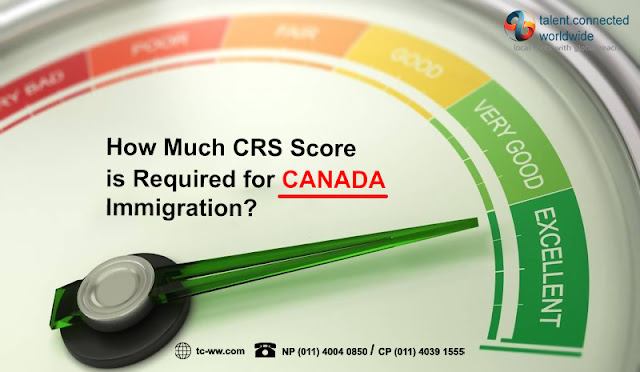 How much CRS score is required for Canada immigration?