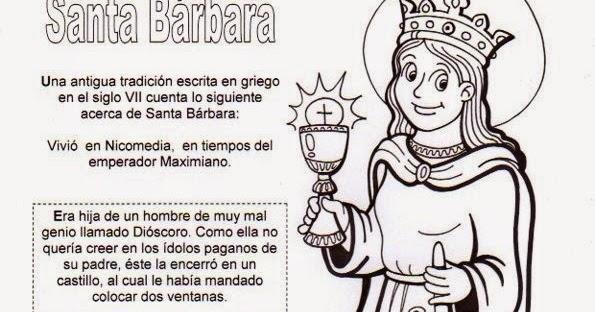 La Catequesis (El blog de Sandra): Recursos Catequesis Santa Bárbara ...
