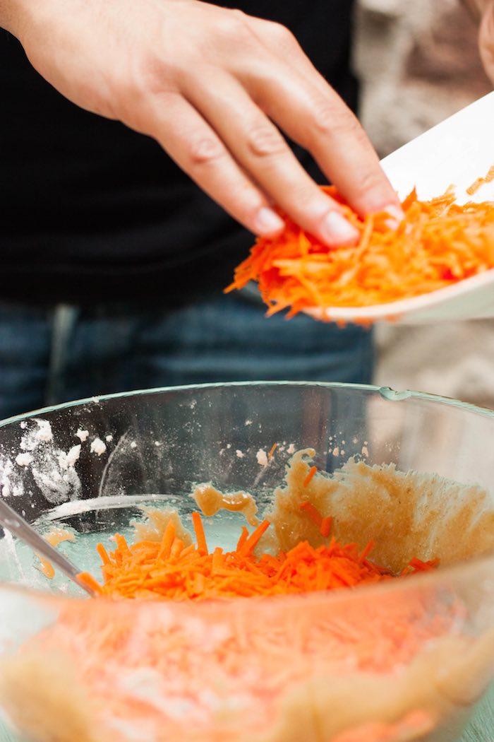 carrot cake zanahoria elaboración