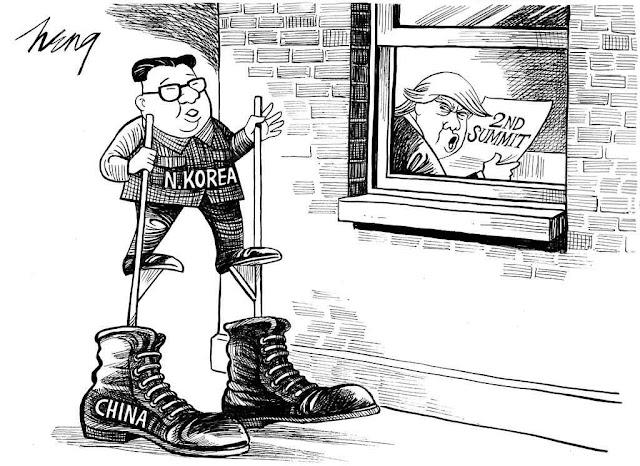 Todos os blefes valem para a ditadura marxista... de Pequim!
