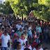 Viva Santa Luzia: Fieis marcham em louvor a Santa Luzia padroeira de Macajuba