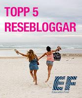 29GRADER listad som topp 5 resebloggar