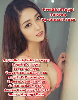 Prediksi Togel Taiwan 14 Januari 2020