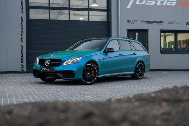 Mercedes-Benz AMG E63 S Estate by Fostla - #Mercedes #AMG #E63 #Fostla #tuning