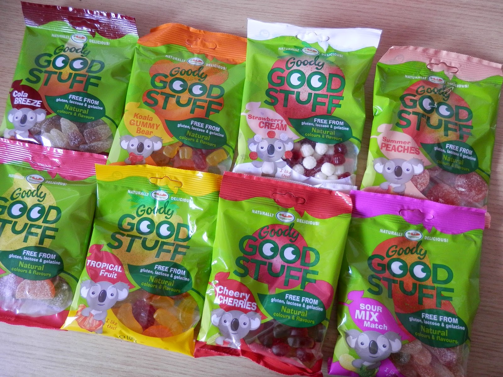 Goody Good Stuff vegan sweets secondhandsusie.blogspot.co.uk