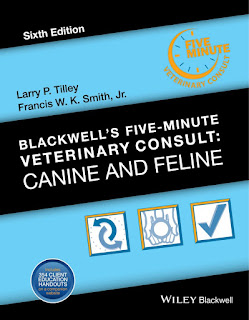 Blackwell's Five-Minute Veterinary Consult Canine and Feline 6th Edition