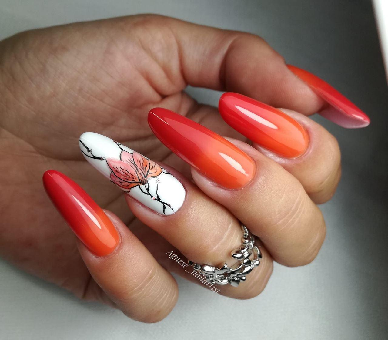 pomarańczowe hybrydy