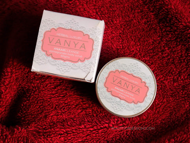 Vanya Anaarcleanse Pomegranate Body Scrub Review