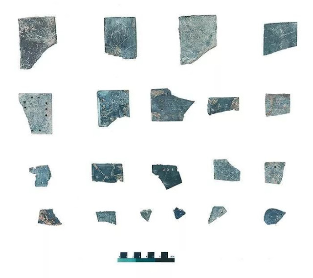 Production site of stone armour from Qinshihuang mausoleum discovered