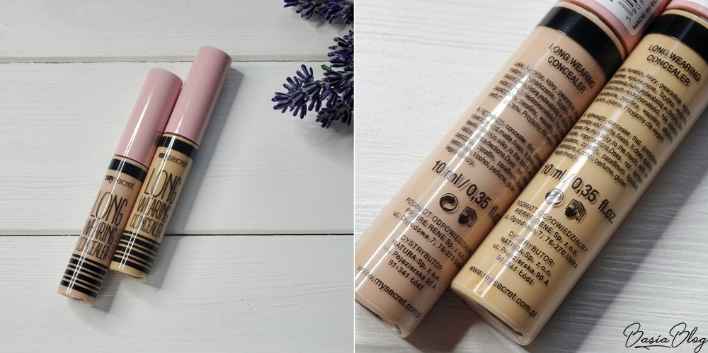 korektor My Secret, kryjący korektor My Secret, kamuflaż My Secret 2, 3, My Secret Long Wearing Concealer