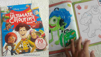 Disney Pixar The Ultimate Colouring Book