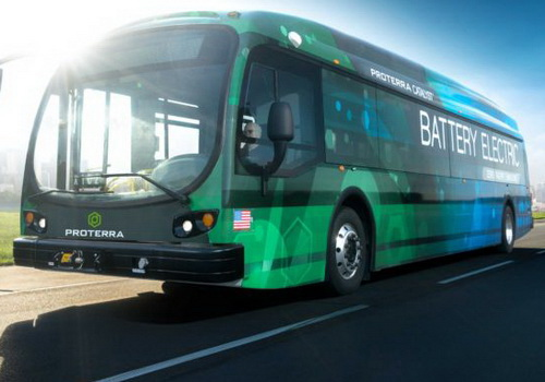 Tinuku Proterra electric bus reach 1,100 miles in single charge