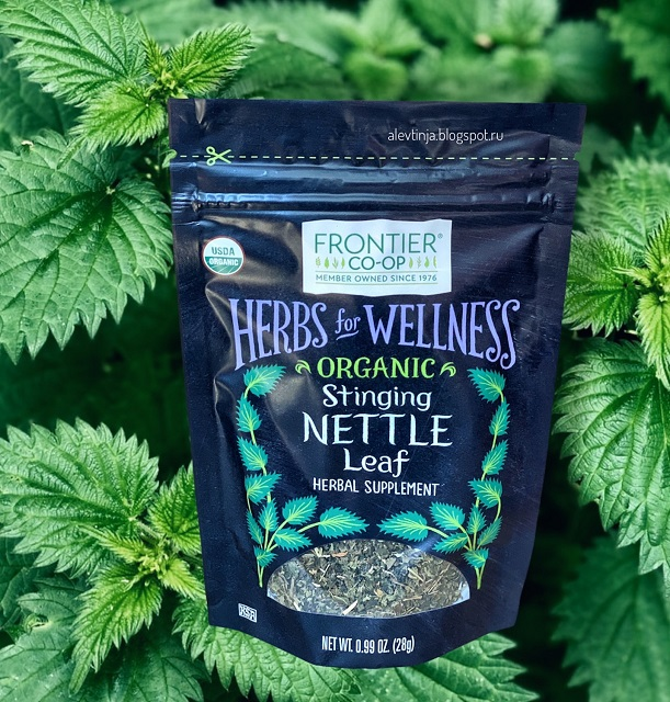 Frontier Natural Products, Organic Stinging Nettle Leaf, 0.99 oz (28 g)