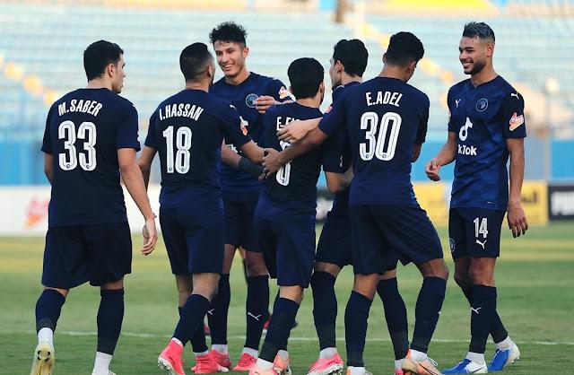 اهداف مباراة بيراميدز وغزل المحلة (6-0) الدوري المصري