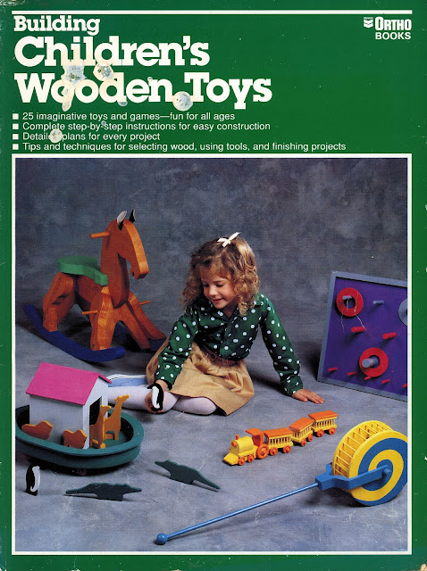Building Childres Wooden Toys Front Cover