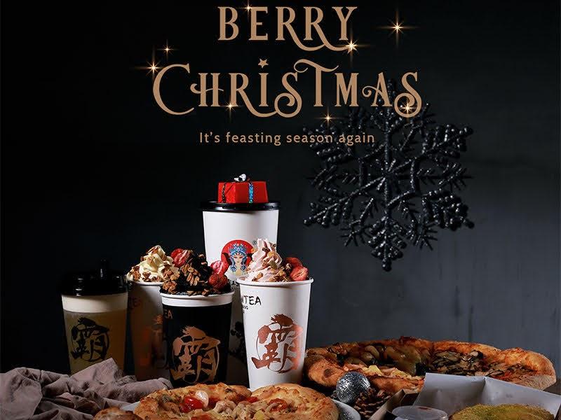 BaWangChaJi Christmas Snowy Berry