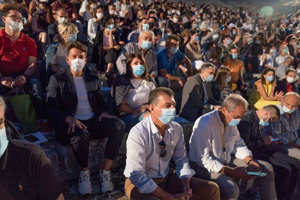 Αρχαίο θέατρο Δωδώνης: Όλοι με ...μάσκα στη ...''Λυσιστράτη''