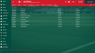Football Manager Guide Dealing With Injuries Training Jack Wilshere