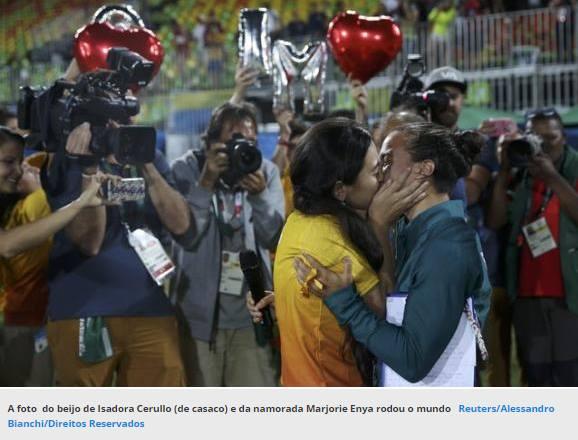 Rio 2016 dá visibilidade à causa LGBT