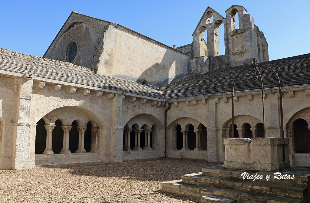 Claustro de la Abadía de Montmajour, Francia