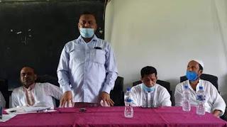 নওগাঁর পোরশায় উপজেলা আম বাজার সমিতির সভা অনুষ্ঠিত
